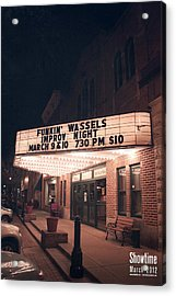 Showtime Acrylic Print by Jeff Bell