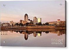 Shreveport Sunrise Acrylic Print