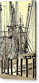 Acrylic Print featuring the photograph Shrimp Boat by Debra Forand