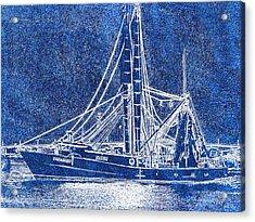 Shrimp Boat - Dock - Coastal Dreaming Acrylic Print