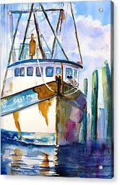 Shrimp Boat Isra Acrylic Print
