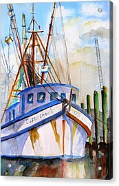 Shrimp Fishing Boat Acrylic Print