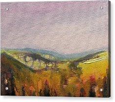 Shropshire Hills 4 Acrylic Print by Paul Mitchell