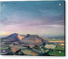 Shropshire Landscape 1 Acrylic Print by Paul Mitchell