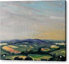 Shropshire Landscape 2 Acrylic Print by Paul Mitchell