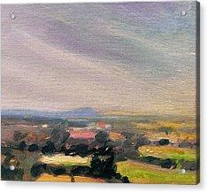 Shropshire Landscape 3 Acrylic Print by Paul Mitchell