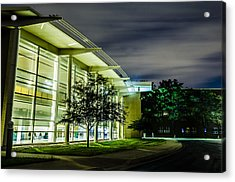 Shs Lower Cafeteria At Night Acrylic Print