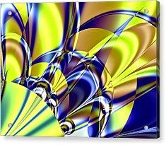 Shshshshout Acrylic Print by Janet Russell