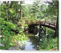 Shukkeien Bridge Acrylic Print