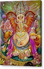 Shurp Karna Full  Acrylic Print by Mayur Sharma