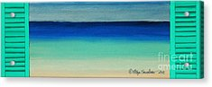 Shutter Me Sea Acrylic Print
