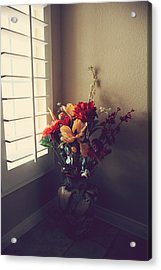 Shutters Acrylic Print by Laurie Search