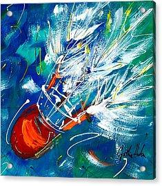 Shuttlecock 3 Acrylic Print by Cynthia Hudson