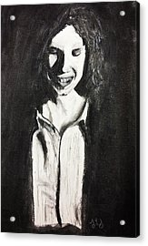 Shy Acrylic Print by Jessica Sanders