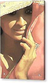 Shy Acrylic Print