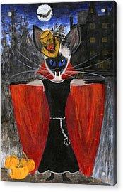 Siamese Queen Of Transylvania Acrylic Print by Jamie Frier