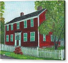 Sibson House Acrylic Print