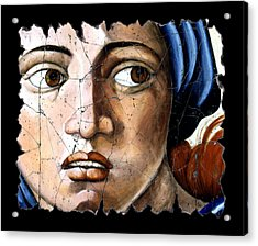 Sibyl Of Delphi Acrylic Print by Steve Bogdanoff