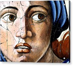 Sibyl Of Delphi - Study No. 1 Acrylic Print
