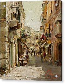 Sicilian Noon Acrylic Print by Oleg Trofimoff