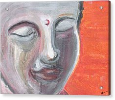 Siddharta Acrylic Print by Michelle Foster