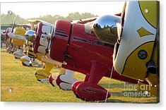 Side By Side. Oshkosh 2012 Acrylic Print