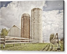 Side By Silo Acrylic Print