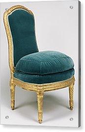 Side Chair Chaise à La Reine Jean Boucault Acrylic Print