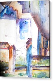 Side Of A House Acrylic Print