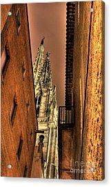 Acrylic Print featuring the photograph Side Of Gaudi by Erhan OZBIYIK