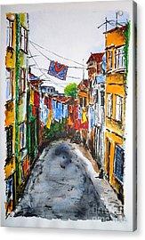 Side Street Acrylic Print