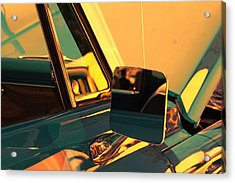 Side View Mirror Acrylic Print by Audreen Gieger-Hawkins