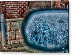 Sideview Mirror Acrylic Print by J Riley Johnson