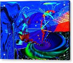 Sidewinder 4 Acrylic Print