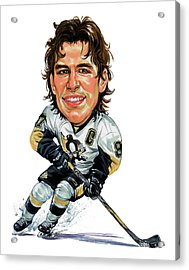 Sidney Crosby Acrylic Print by Art