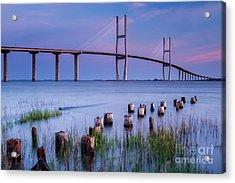 Sidney Lanier Bridge Brunswick Georgia Acrylic Print