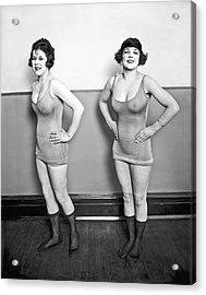 Sidney Lust Chorus Girls Acrylic Print by National Photo Company