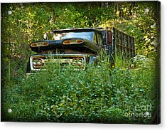 Acrylic Print featuring the photograph Sid's Old Truck by Lena Wilhite