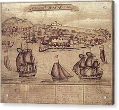 Siege Of Curacao Acrylic Print