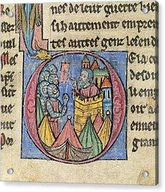 Siege Of Nicaea Acrylic Print