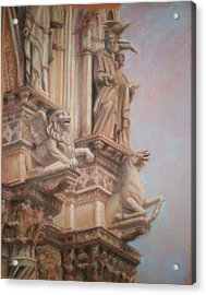 Siena Cathedral Acrylic Print