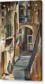 Siena Italy Acrylic Print by Carole Foret
