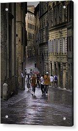 Siena Rain Acrylic Print