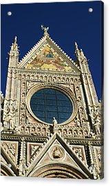 Sienna Cathedral Acrylic Print by Barbara Stellwagen