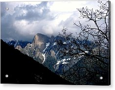 Acrylic Print featuring the photograph Sierra Nevada Snowy View by Matt Harang