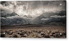 Sierra Thunderstorm Acrylic Print