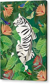 Siesta Del Tigre - Limited Edition 2 Of 15 Acrylic Print