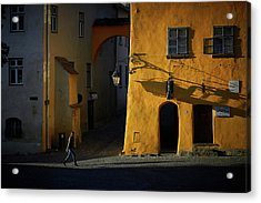 Sighisoara Acrylic Print by Cristian Lee