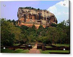 Sigiriya Fortress Acrylic Print by Sanjeewa Marasinghe