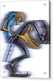 Sigma Steps Acrylic Print